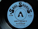 MICKY MOONSHINE/CHAPTER 5 45 RE-NAME IT YOU GOT IT/YOU CAN'T MEAN IT- NORTHERN SOUL 2 SIDER
